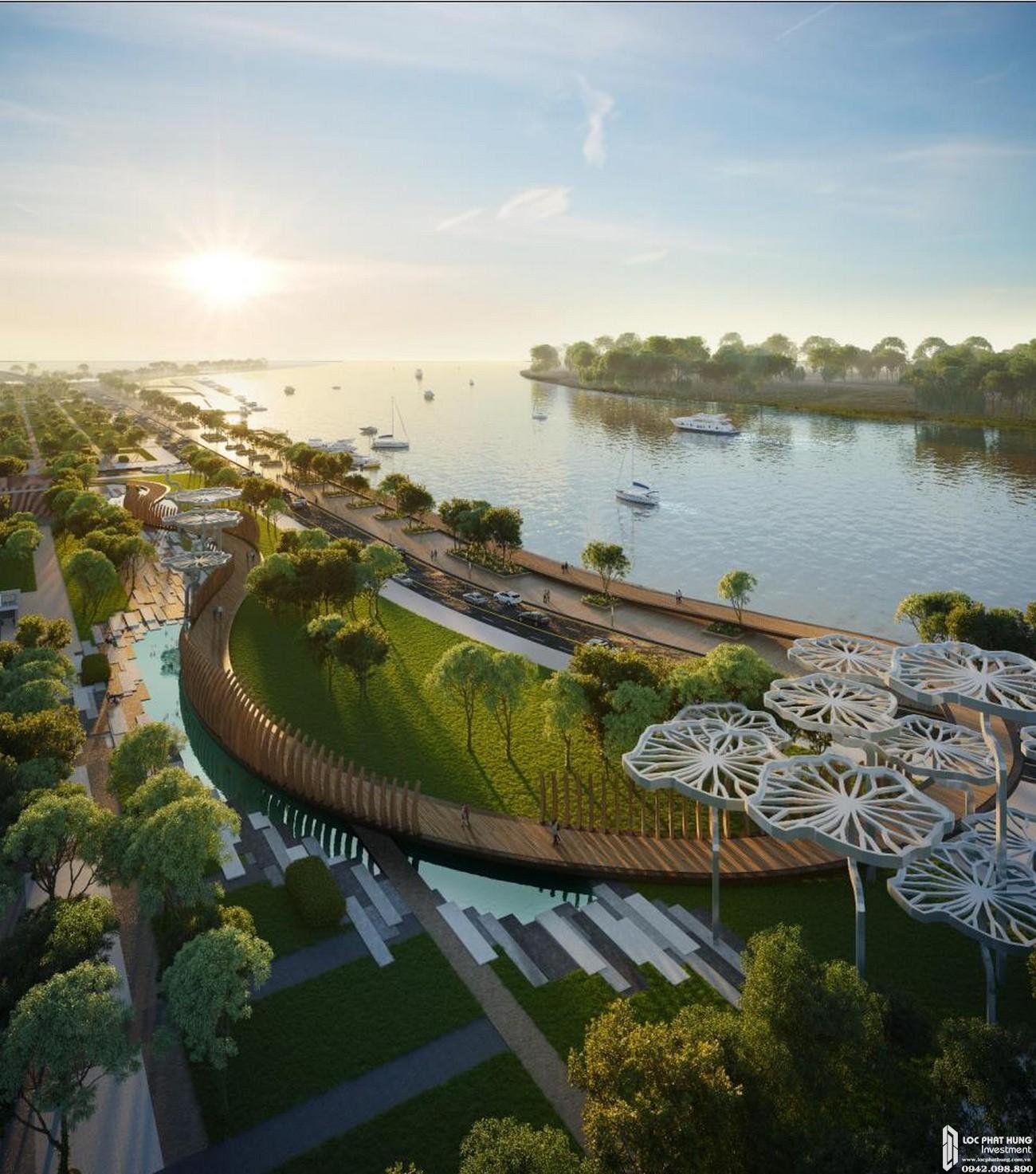 Quảng trường mới của Thành phố tại dự án Grand Marina Saigon