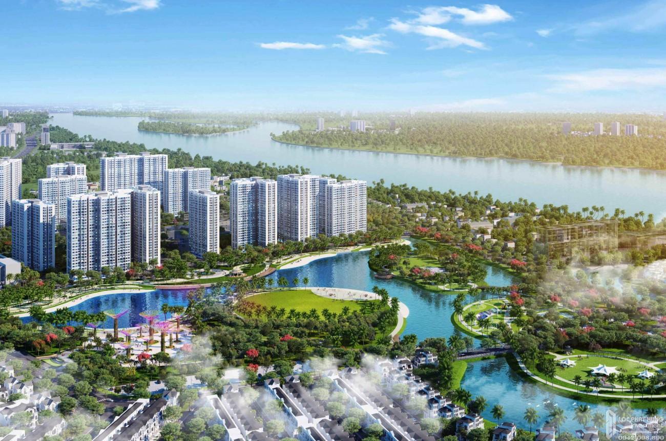 Phối cảnh tổng thể dự án căn hộ chung cư The Kyoto Quận 9  chủ đầu tư Vingroup