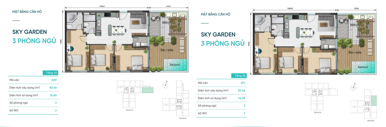 Thiết kế Sky Garden D-Aqua