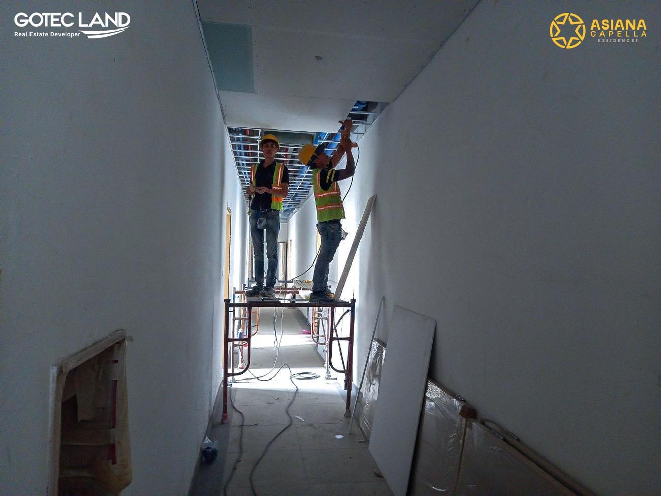Tiến độ dự án căn hộ  Asiana Capella Quận 6 đường Trần Văn Kiểu vào tháng 04/2021