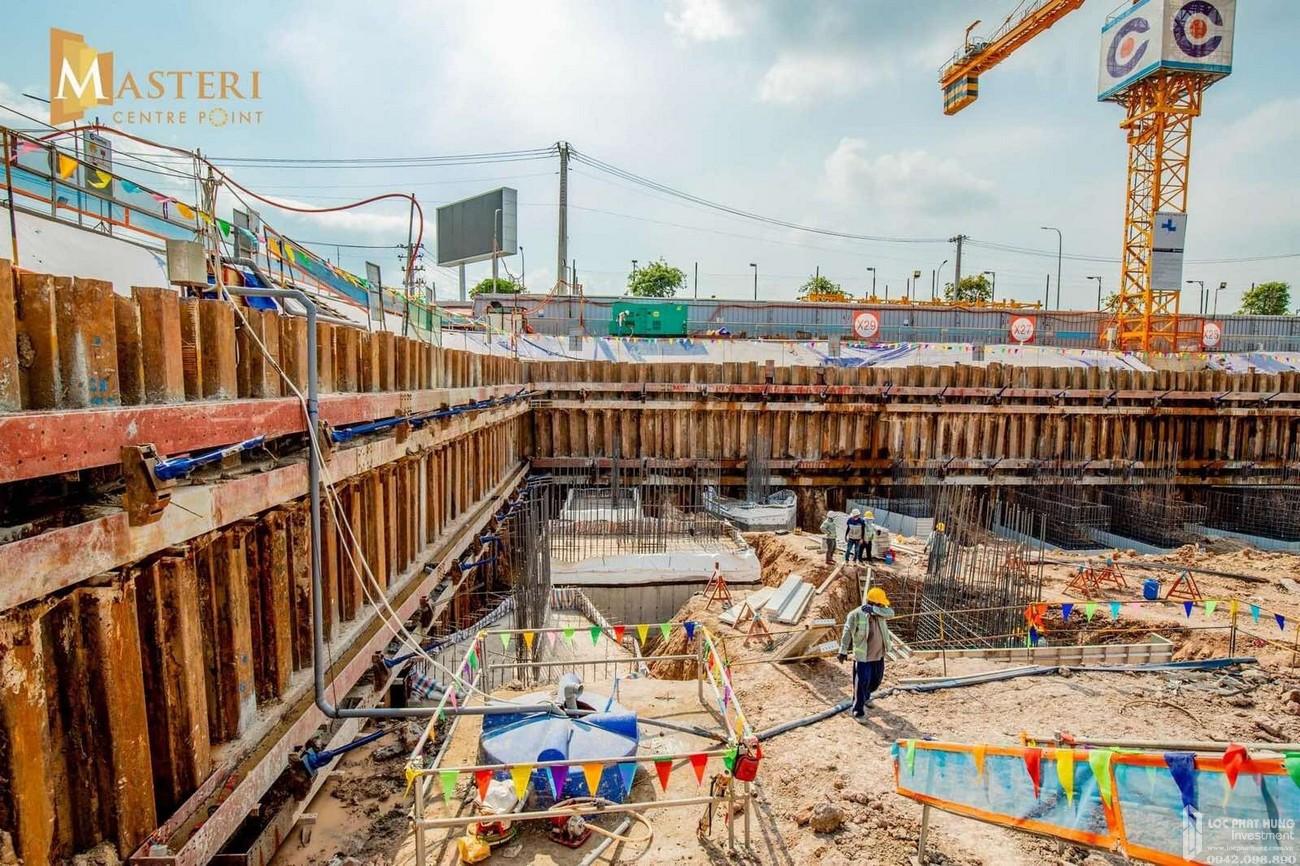 Tiến độ Masteri Centre Point Quận 9 Đường Nguyễn Xiển chủ đầu tư Masterise Homes