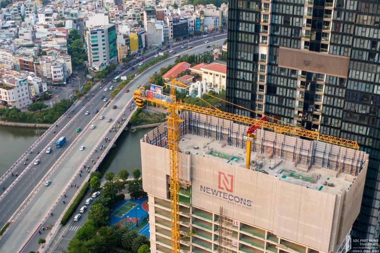 Tiến độ xây dựng Grand Marina Saigon tháng 4/2021