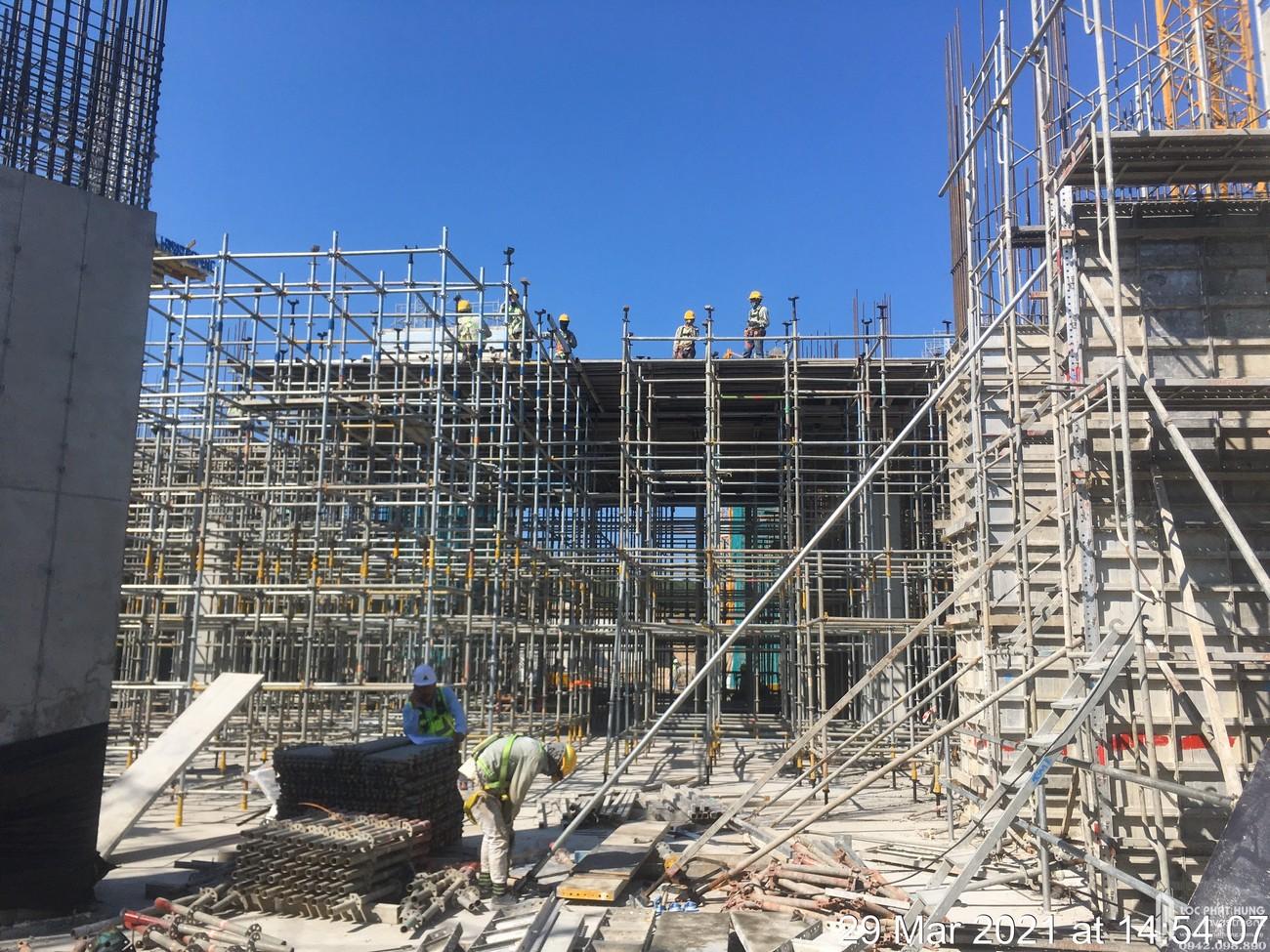 Tiến độ dự án Vega City Nha Trang ngày 29/3/2021