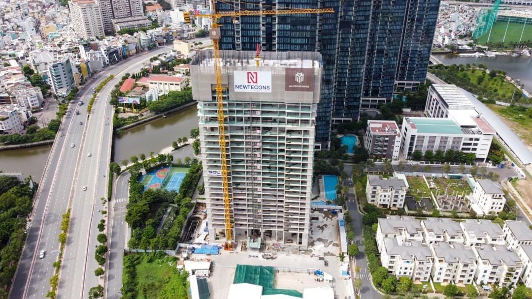 Tiến độ xây dựng Grand Marina Saigon Tháng 08/2021