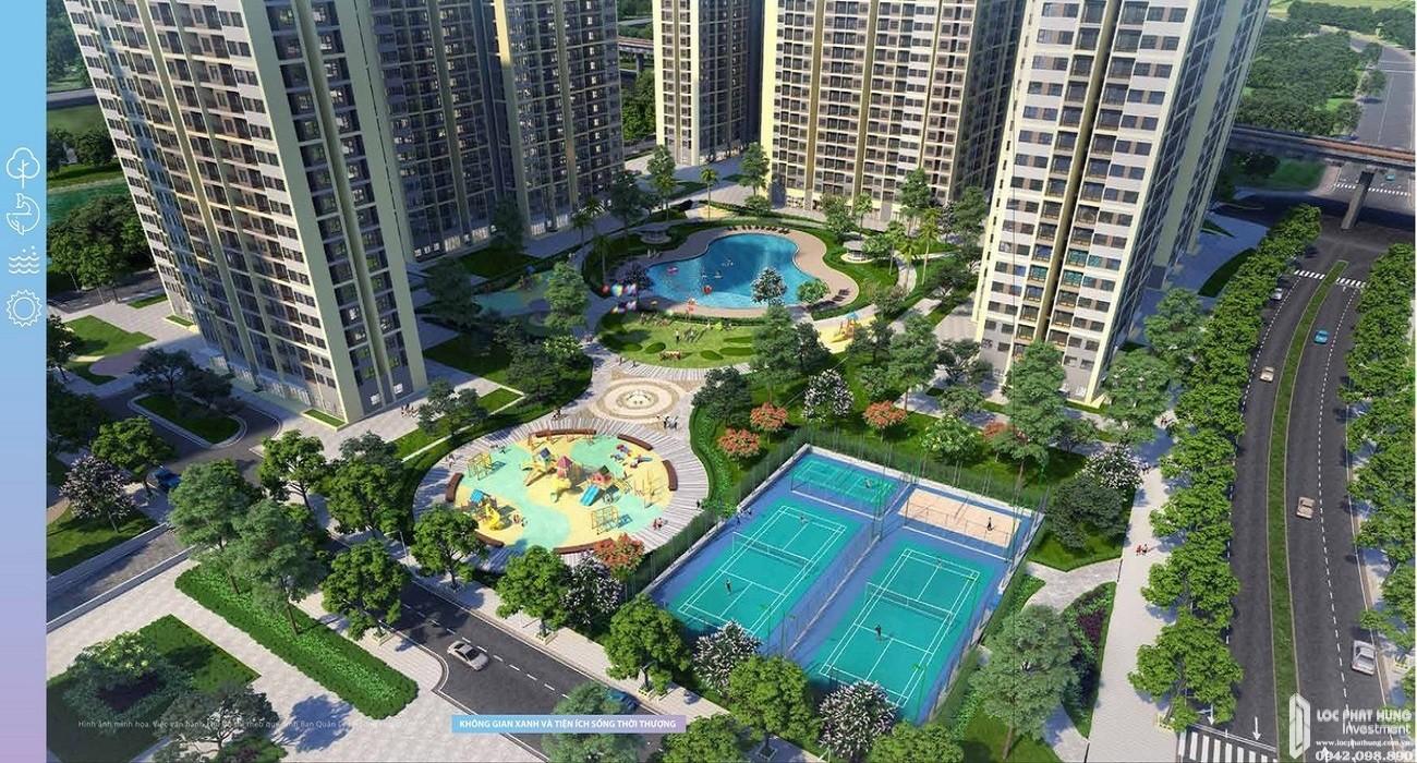 Tiện ích dự án căn hộ chung cư The Kyoto Quận 9 chủ đầu tư Vingroup