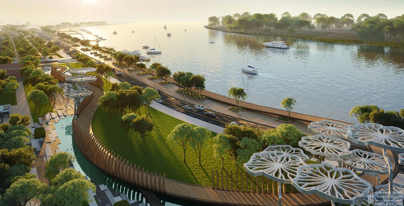 Bến du thuyền dự án Grand Marina Saigon
