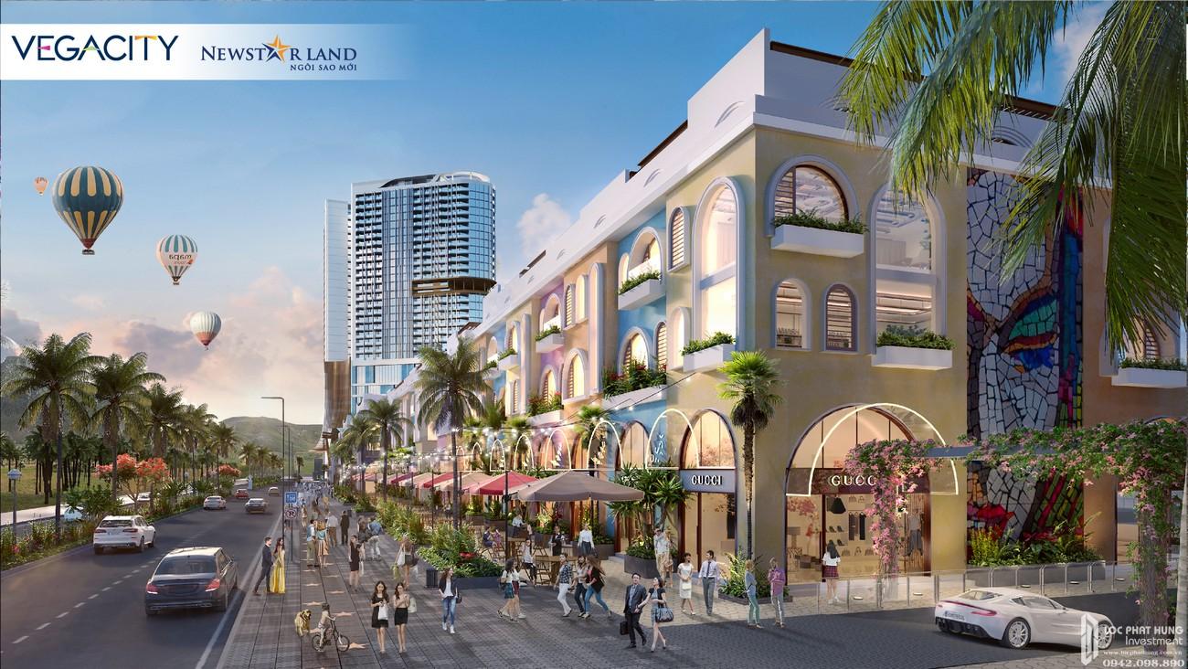 Đại lộ danh vọng Walk of Fame dự án Vega City Nha Trang