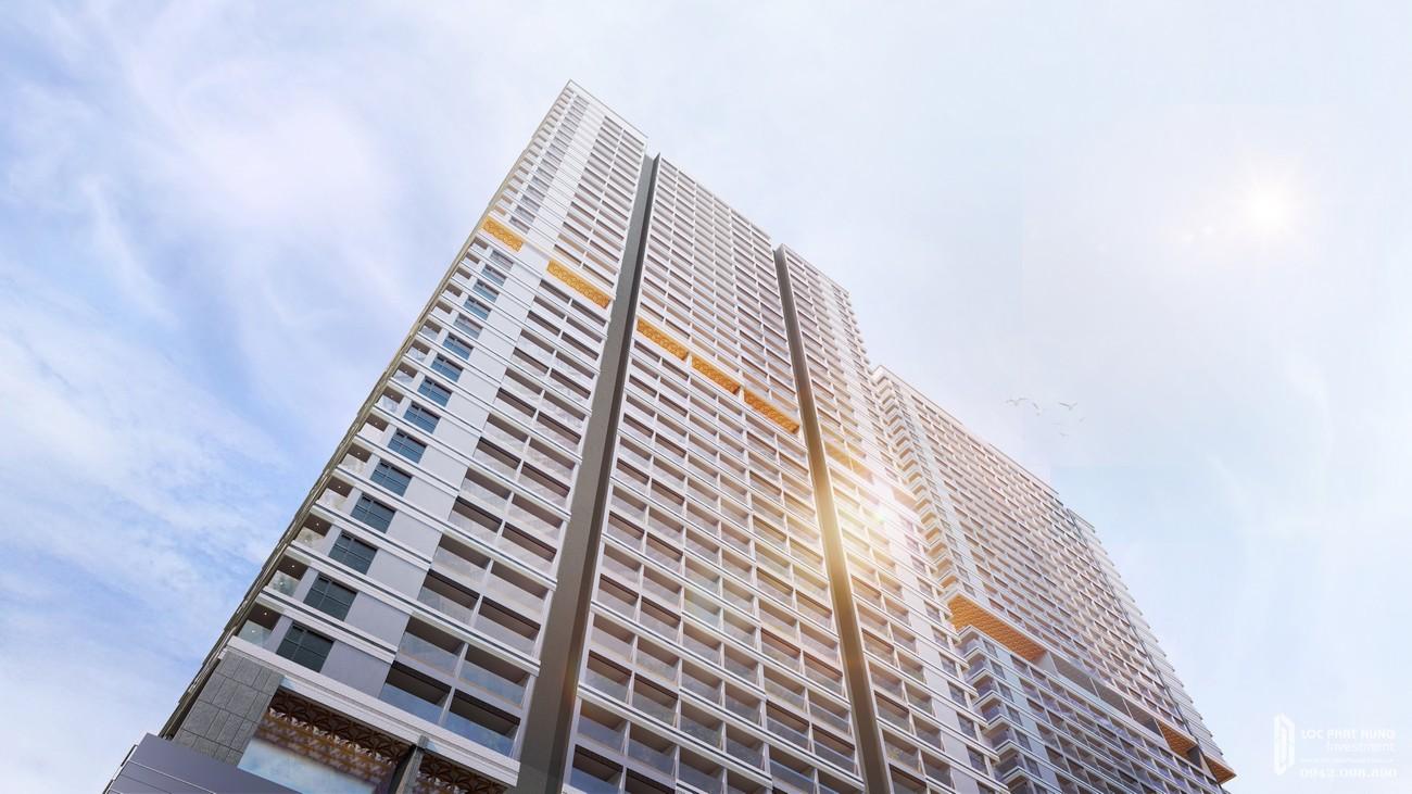 Phối cảnh tổng thể dự án căn hộ chung cư Takashi Ocean Suite chủ đầu tư Phát Đạt