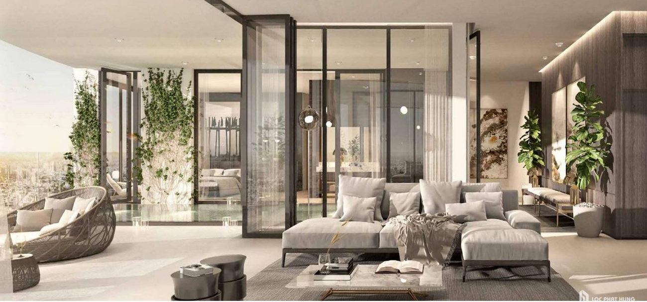 cảm hứng thiết kế Penthouse The River Thủ Thiêm