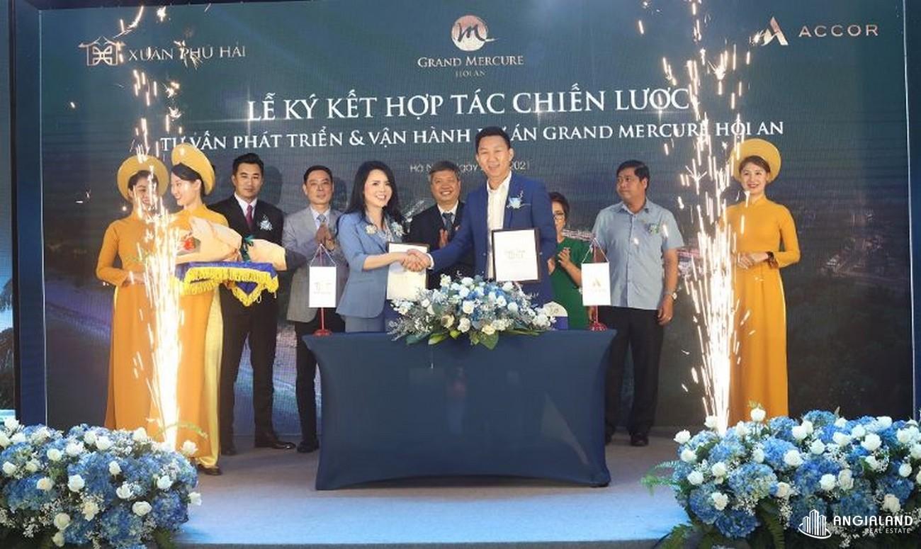 Chủ đầu tư dự án căn hộ nghỉ dưỡng chung cư Grand Mercure Hội An Điện Bàn chủ đầu tư Xuân Phú Hải