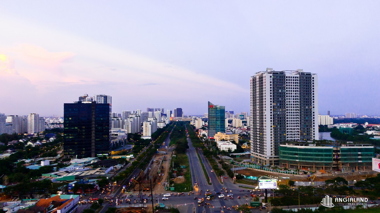 Ảnh thực tế căn hộ Lavida Plus Quận 7 đoạn giao lộ Nguyễn Văn Linh & Nguyễn Hữu Thọ