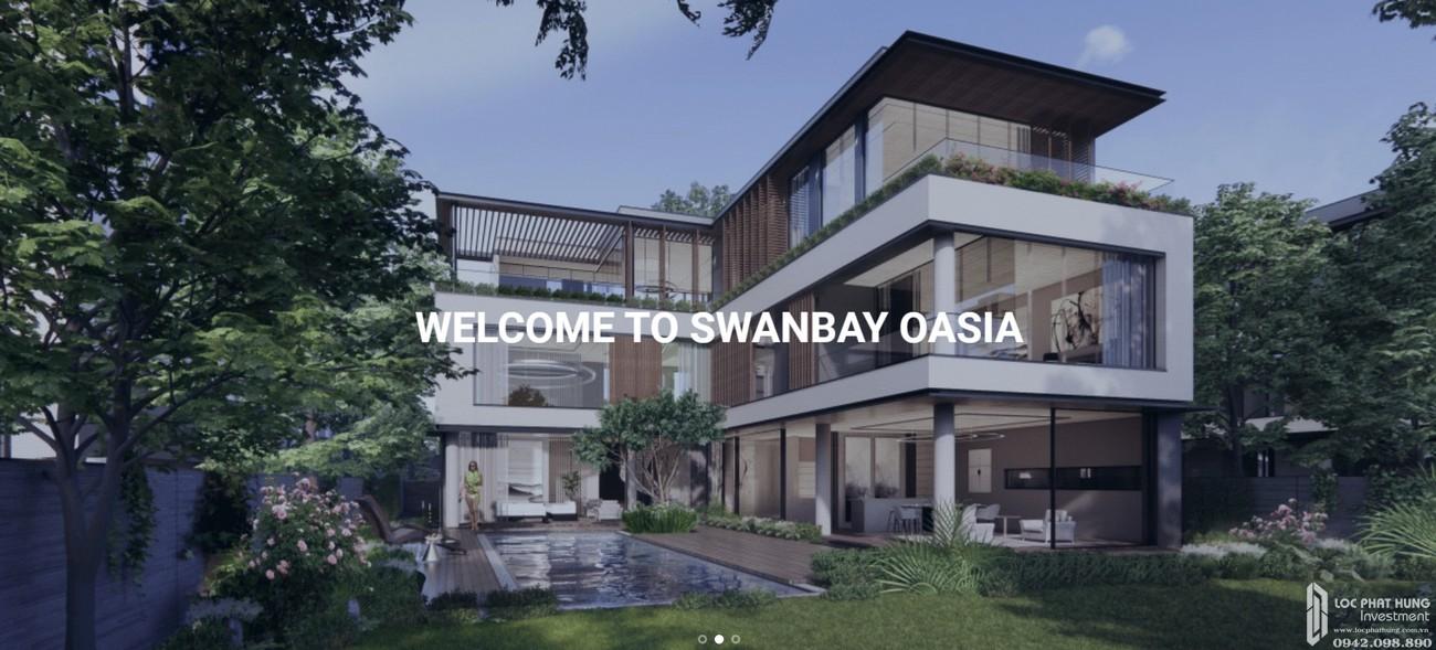 Phối cảnh biệt thự phân khu Oasia dự án Swanbay Đồng Nai