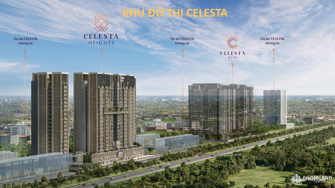 Tổng quan căn hộ chung cư Celesta Heights Kepple Land Nhà Bè