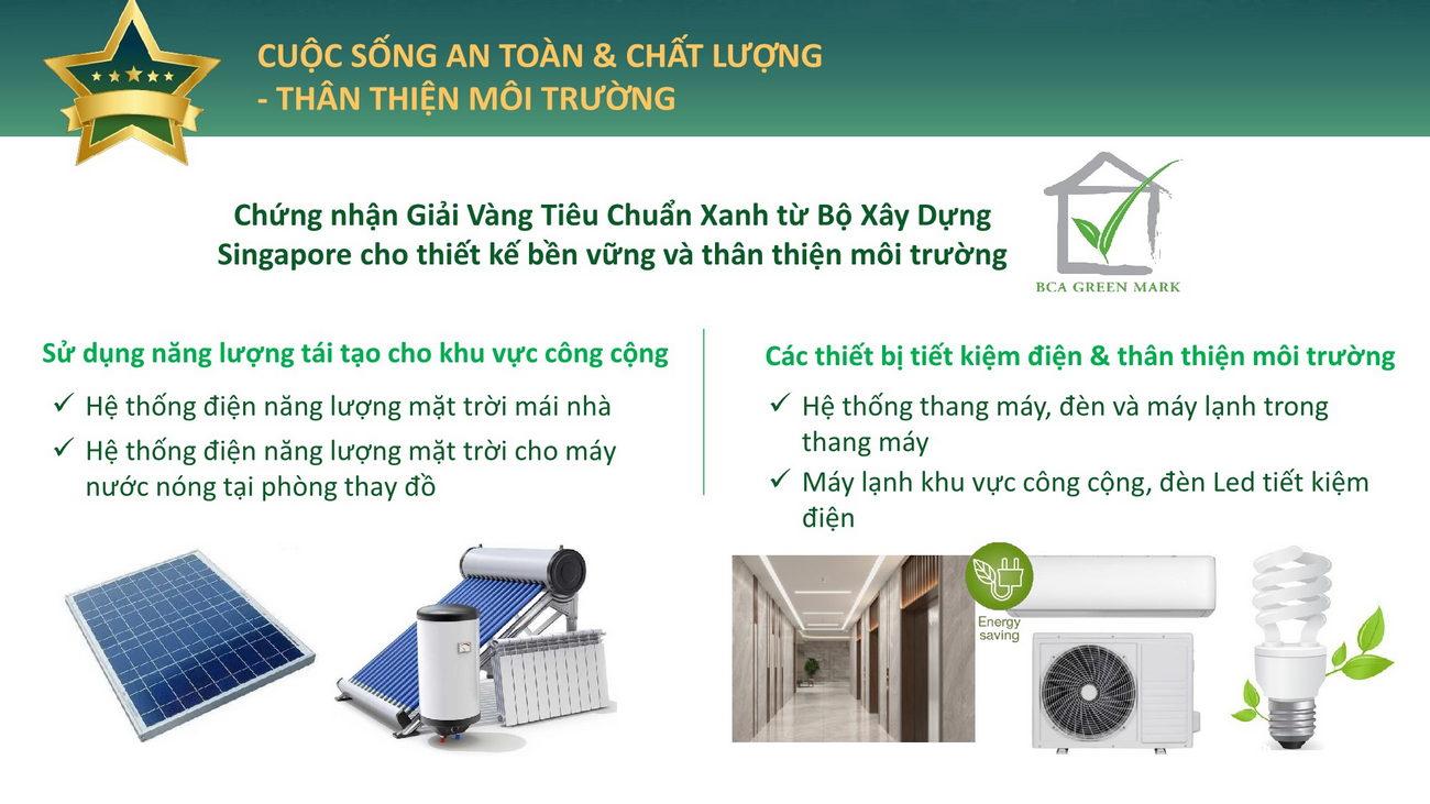 Đánh giá chất lượng BCA Green Mark