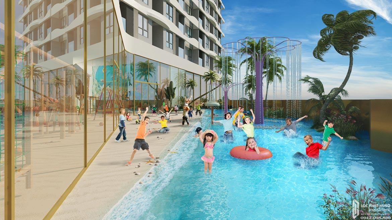 Tiện ích hồ bơi dự án Ben Hill Thuận An chủ đầu tư Ben House Việt Nam