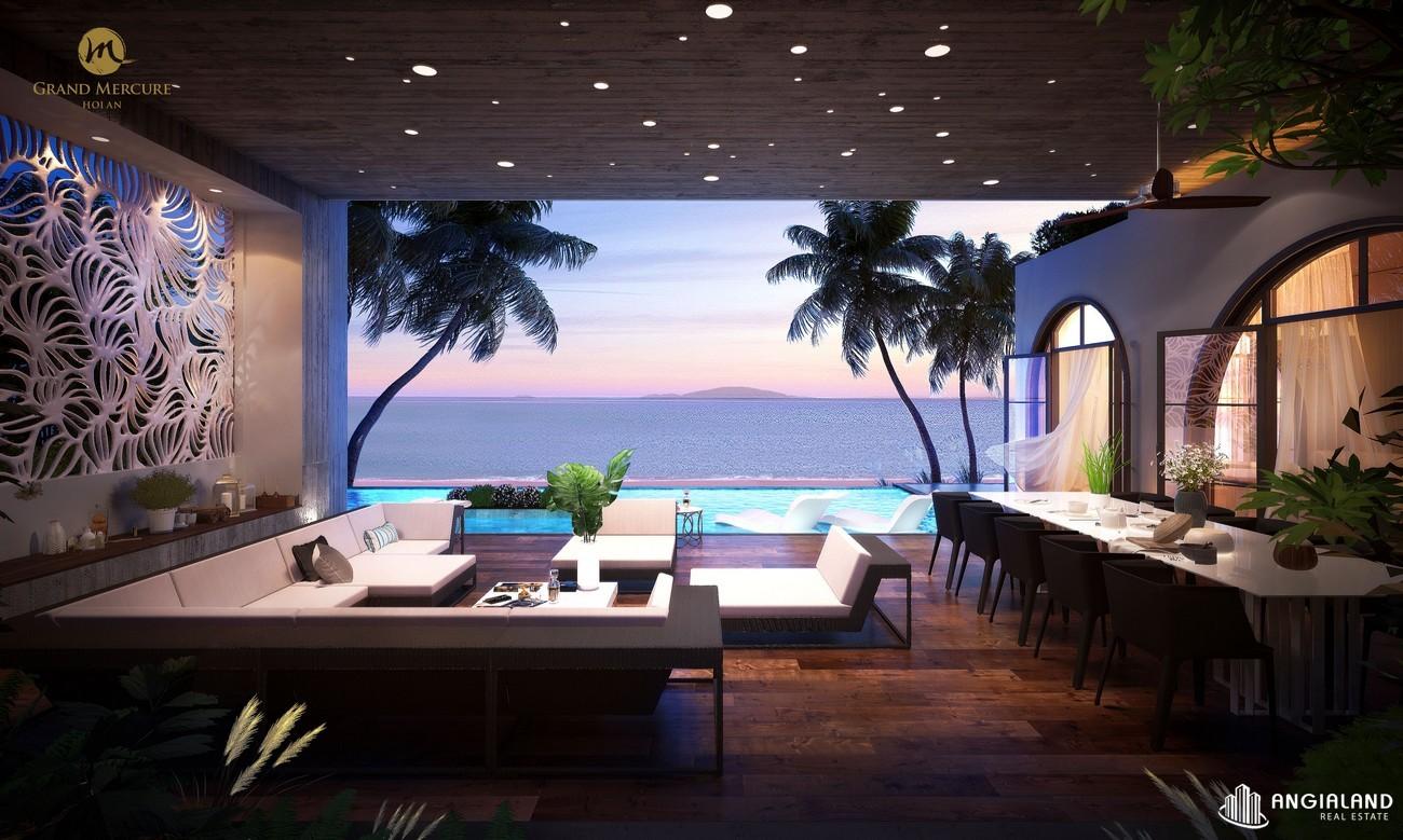Nhà mẫu dự án căn hộ nghỉ dưỡng chung cư Grand Mercure Hội An Điện Bàn chủ đầu tư Xuân Phú Hải