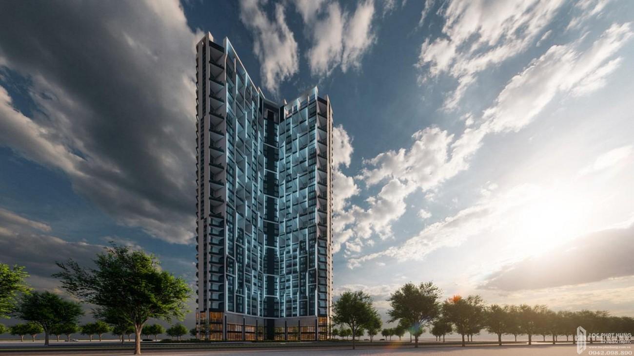 Phối cảnh tổng thể dự án biệt thự Apec Mandala Sky Villas Tuy Hòa chủ đầu tư Apec Group