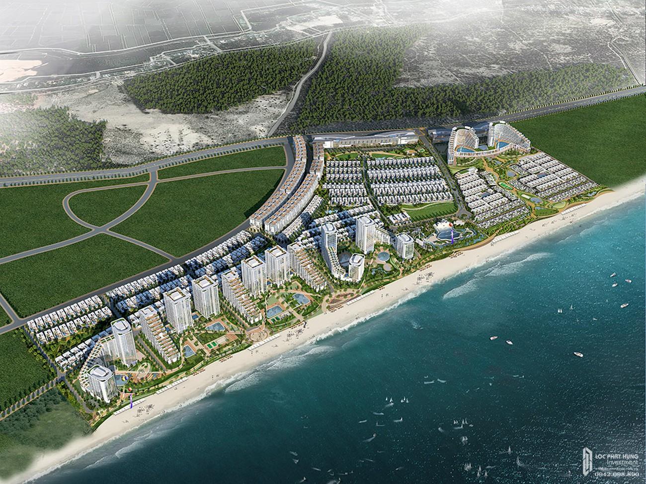 Phối cảnh tổng thể dự án Laimian Quy Nhơn chủ đầu tư HDTC