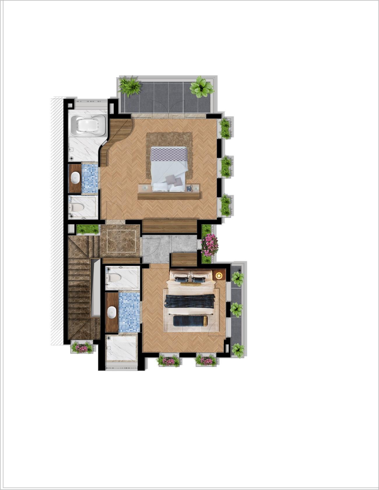 Thiết kế dự án căn hộ nghỉ dưỡng chung cư Grand Mercure Hội An Điện Bàn chủ đầu tư Xuân Phú Hải