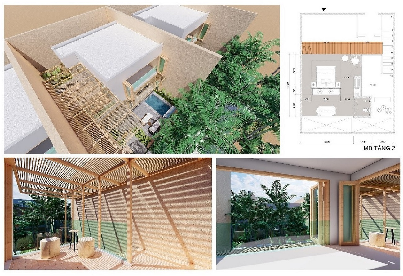 Thiết kế dự án  Apec Mandala Retreats Mũi Né  chủ đầu tư Apec Group