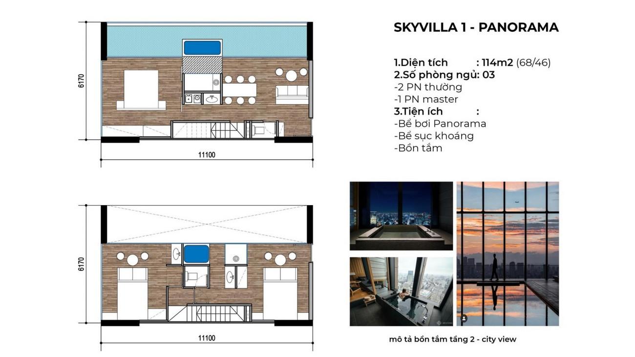 Thiết kế dự án biệt thự Apec Mandala Sky Villas Tuy Hòa chủ đầu tư Apec Group