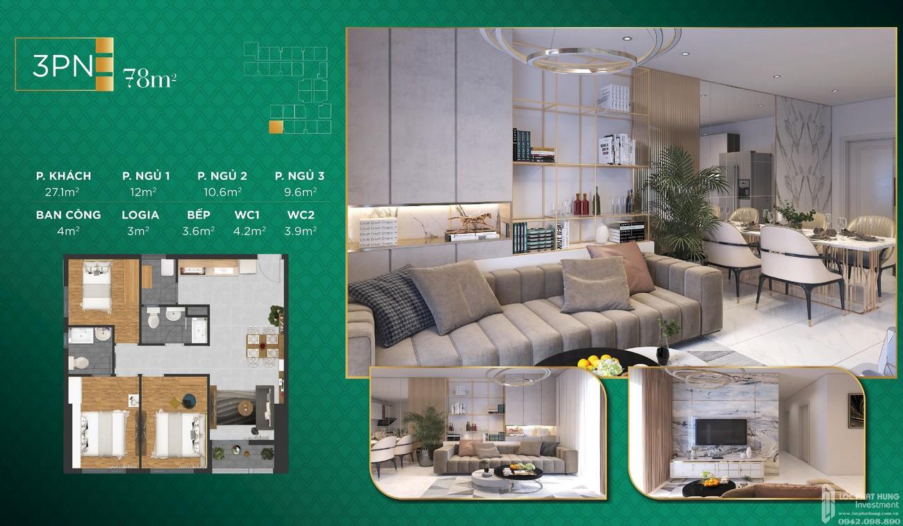 Thiết kế dự án căn hộ chung cư Phúc Đạt Tower Dĩ An Đường Quốc lộ 1K chủ đầu tư Phúc Đạt