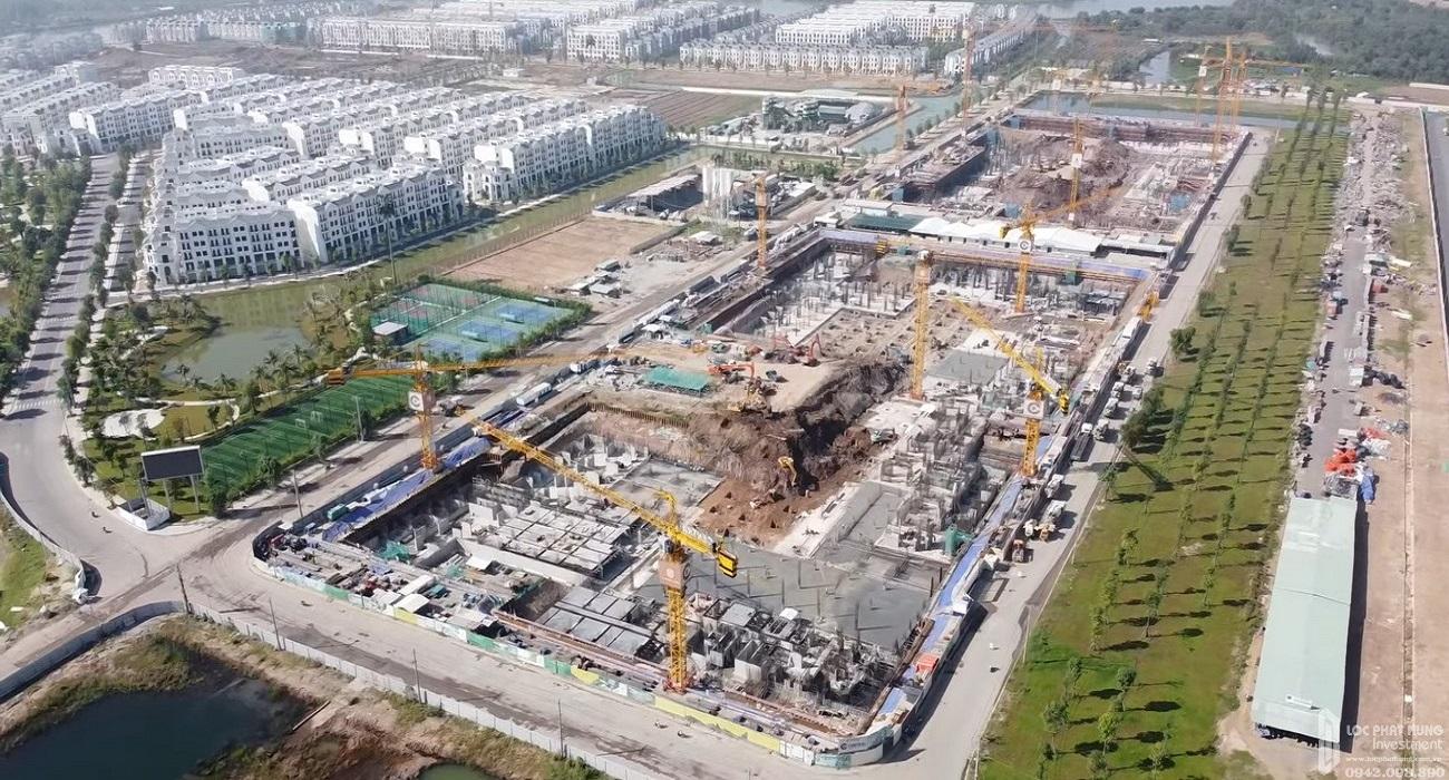 Tiến độ dự án căn hộ chung cư Vinhomes Grand Park Quận 9 Đường Nguyễn Xiển chủ đầu tư Vingroup