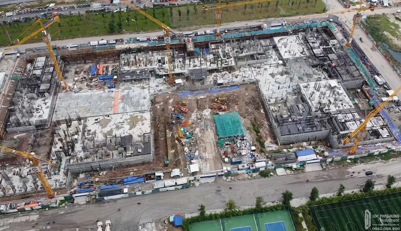 Tiến độ dự án căn hộ chung cư Masteri Centre Point Quận 9 Đường Nguyễn Xiển chủ đầu tư Masterise Homes
