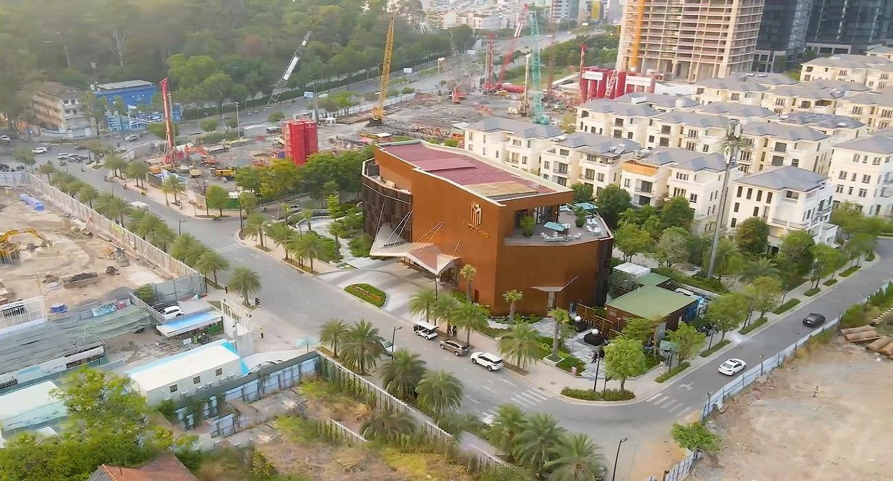 Tien do thi cong Grand Marina SaiGon