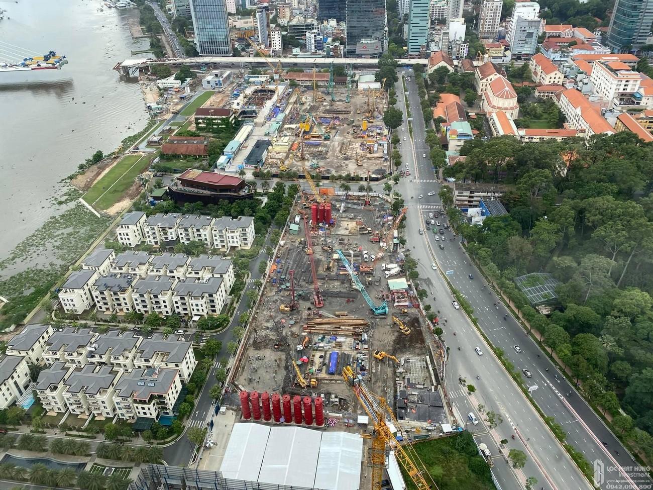 Tiến độ dự án Grand Marina Saigon tháng 05/2021
