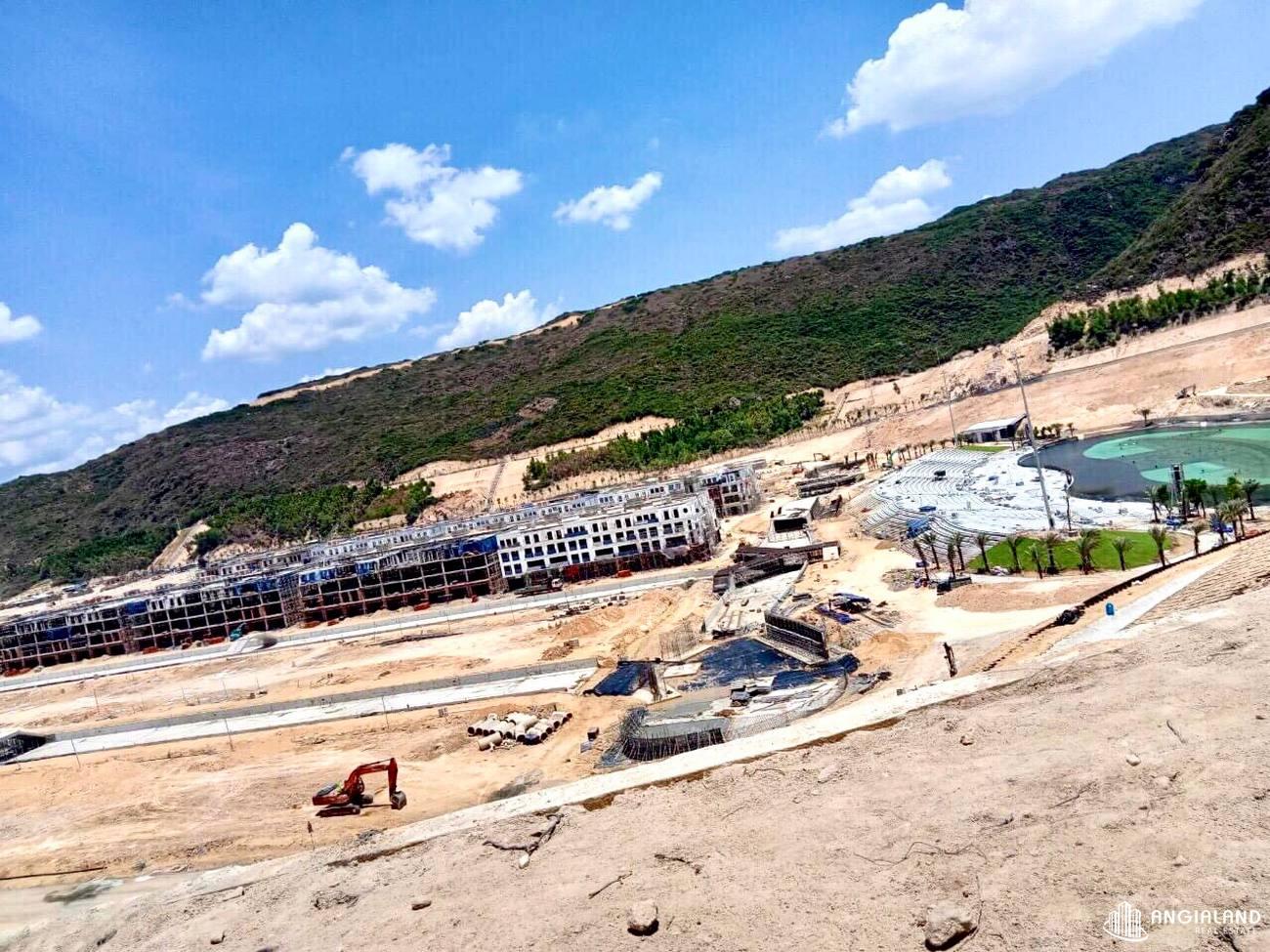 Tiến độ xây dựng dự án Merry City Quy Nhơn tháng 07/2021