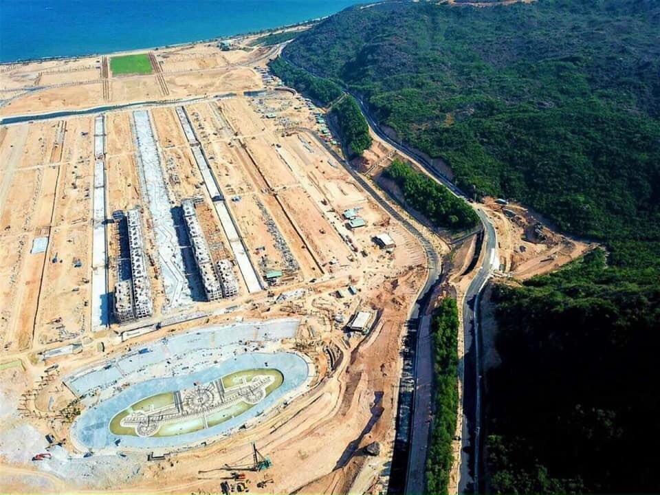 Tiến độ xây dựng tháng 05/2021 dự án Merry City Hải Giang Quy Nhơn Tập Đoàn Hưng Thịnh