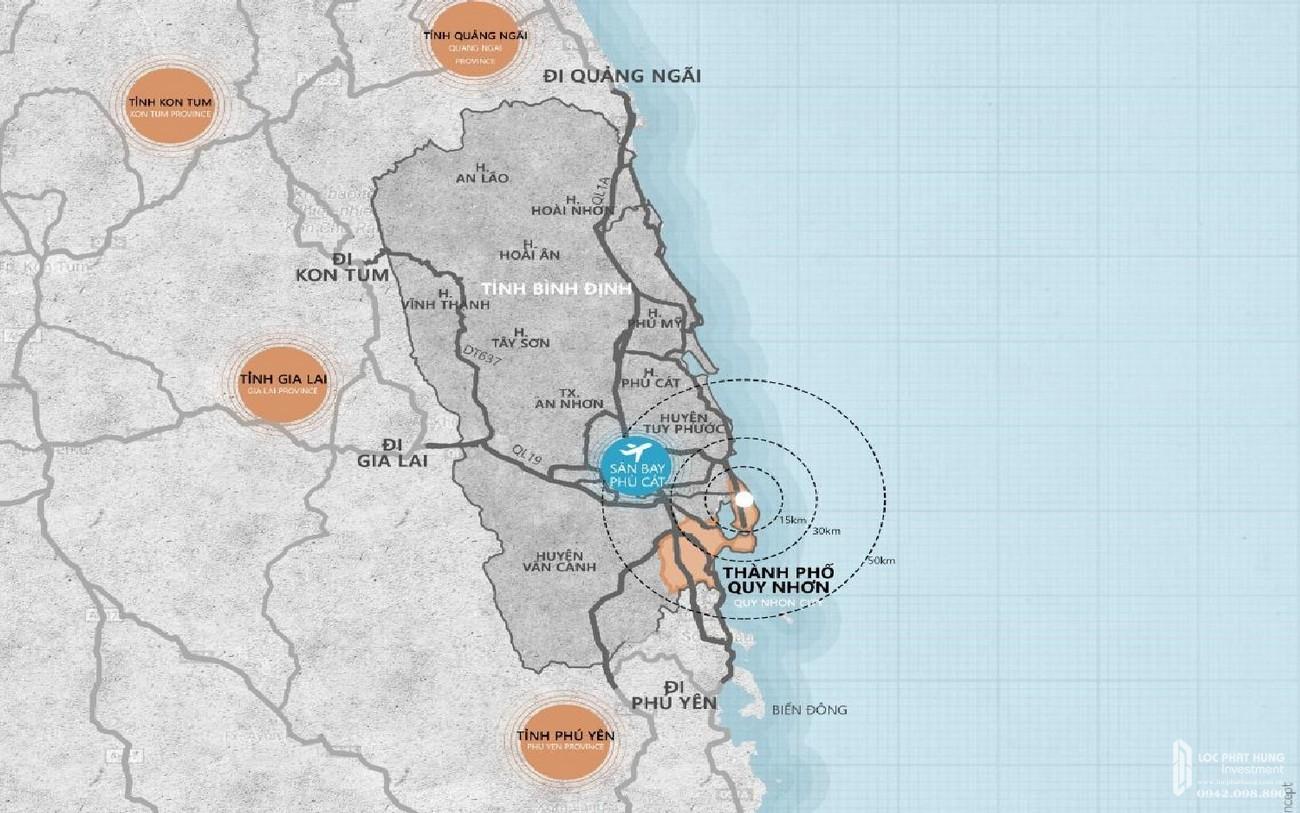 Vị trí chính xác dự án Takashi Ocean Suite Kỳ Co chủ đầu tư Phát Đạt