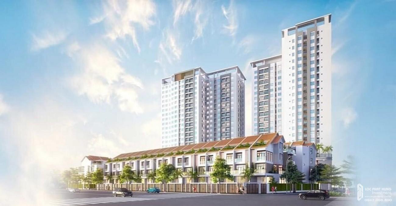 Phối cảnh tổng thể dự án Richmond Quy Nhơn chủ đầu tư Hưng Thịnh