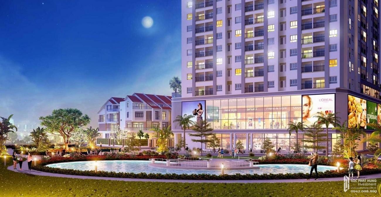 Phối cảnh tổng thể sảnh đón dự án Richmond Quy Nhơn chủ đầu tư Hưng Thịnh