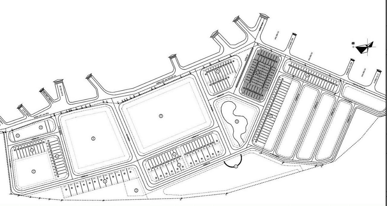 Mặt bằng tổng thể dự án Richmond Quy Nhơn chủ đầu tư Hưng Thịnh
