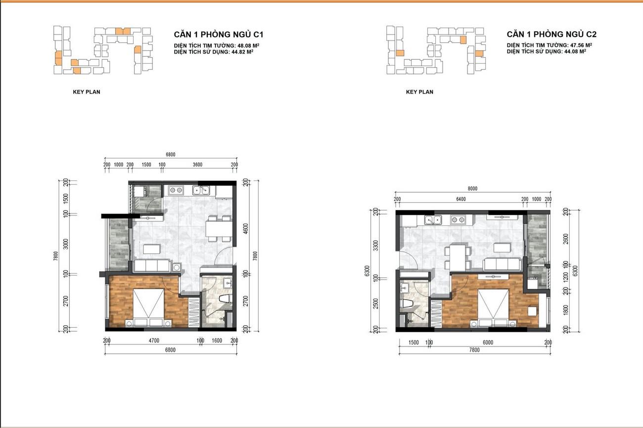 Thiết kế căn hộ dự án Ben Hill Thuận An chủ đầu tư Ben House