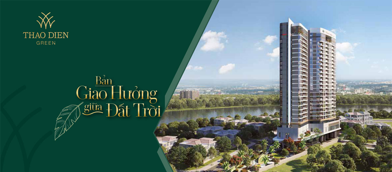 Baner dự án căn hộ chung cư Thảo Điền Green Quận 2
