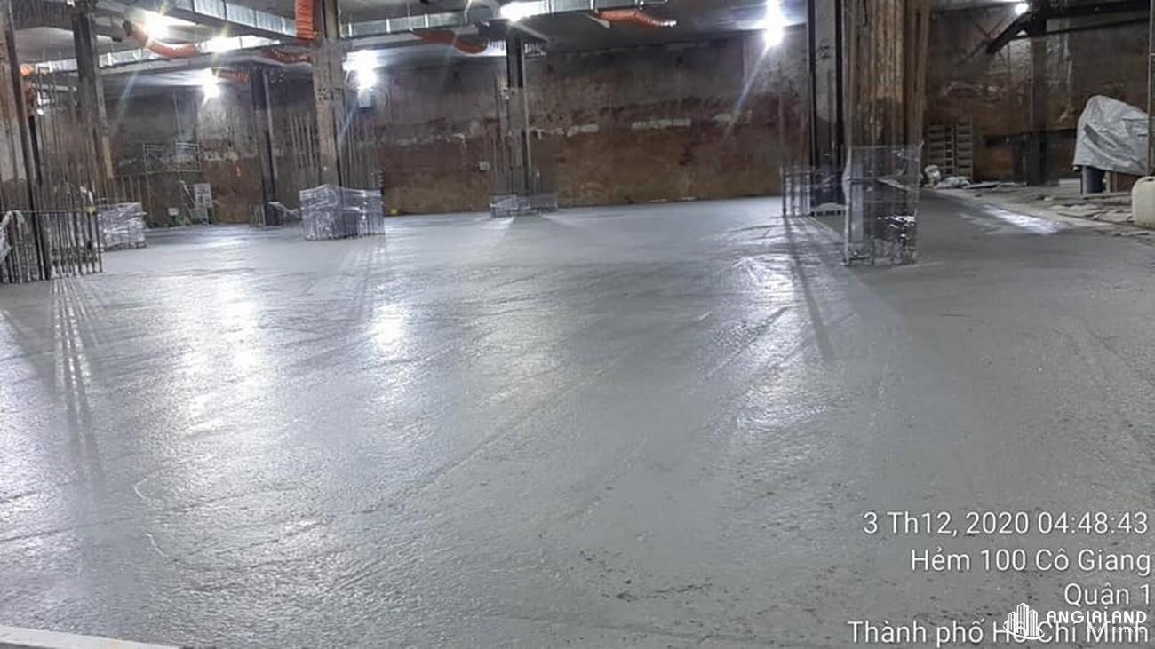 Tiến độ xây dựng dự án Grand Manhattan Quận 1 tháng 12/2020