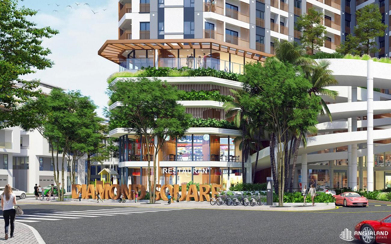 Sảnh đón dự án Diamond Square Biên Hòa