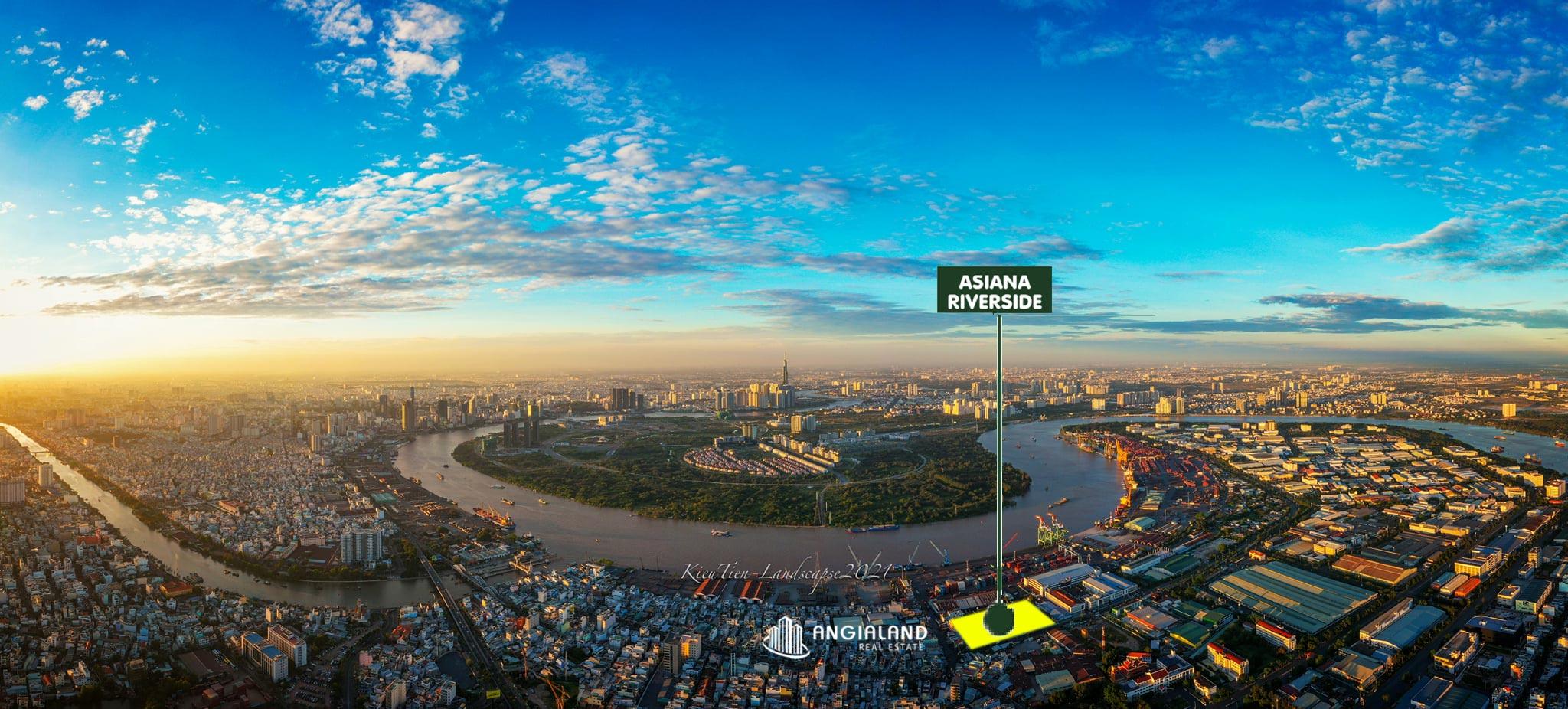 Flycam Toàn cảnh khu đô thị Thủ Thiêm Quận 2