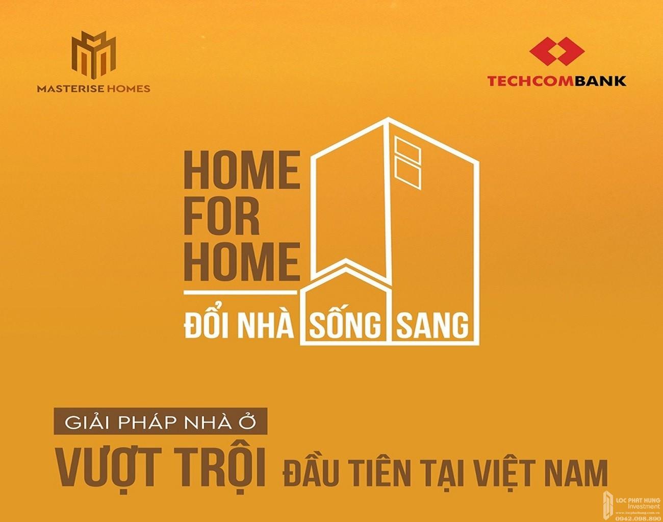 """Giải pháp """"Nhà đổi nhà"""" đầu tiên tại Việt Nam – Home for Home"""