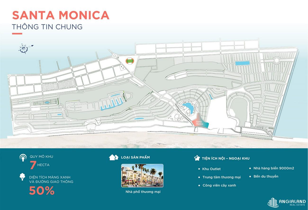 Mặt bằng Santa Monica