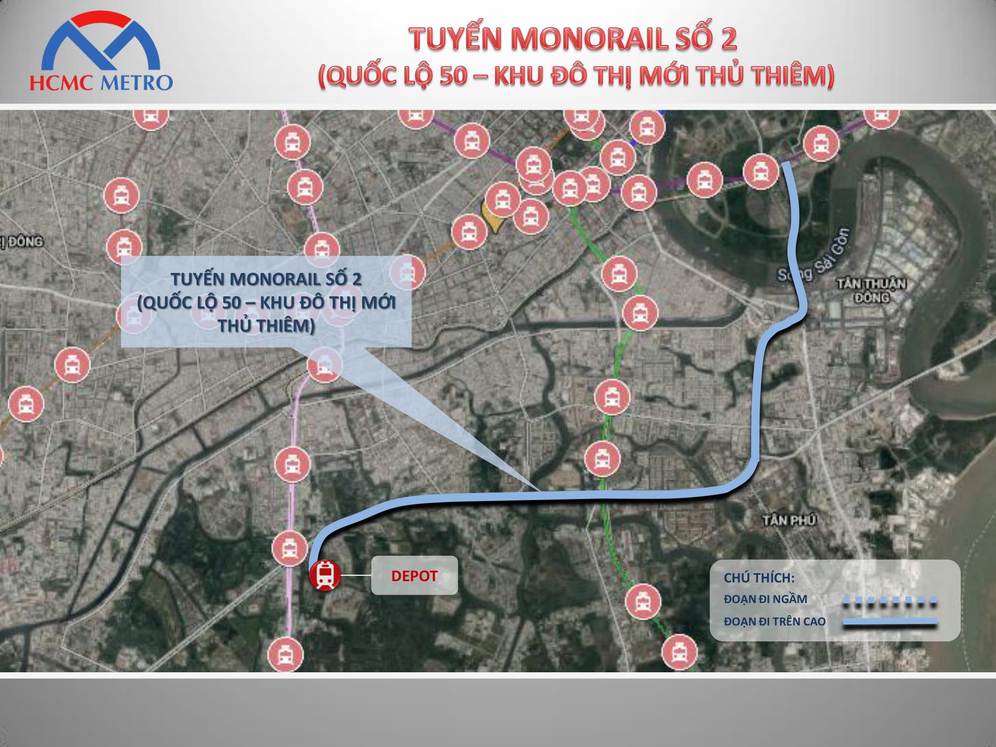 Tuyến Monorail số 02 TPHCM