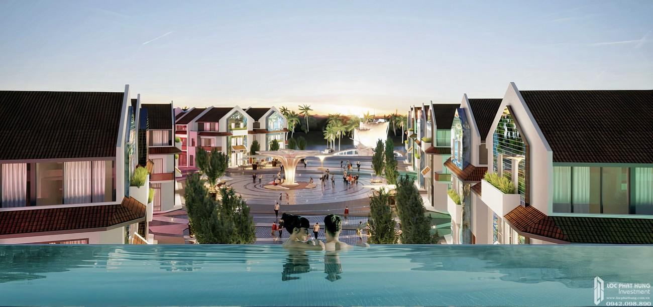 Nhà mẫu dự án căn hộ nghĩ dưỡng Hội An D'or Hội An Đường Cẩm Nam chủ đầu tư Bamboo Capital