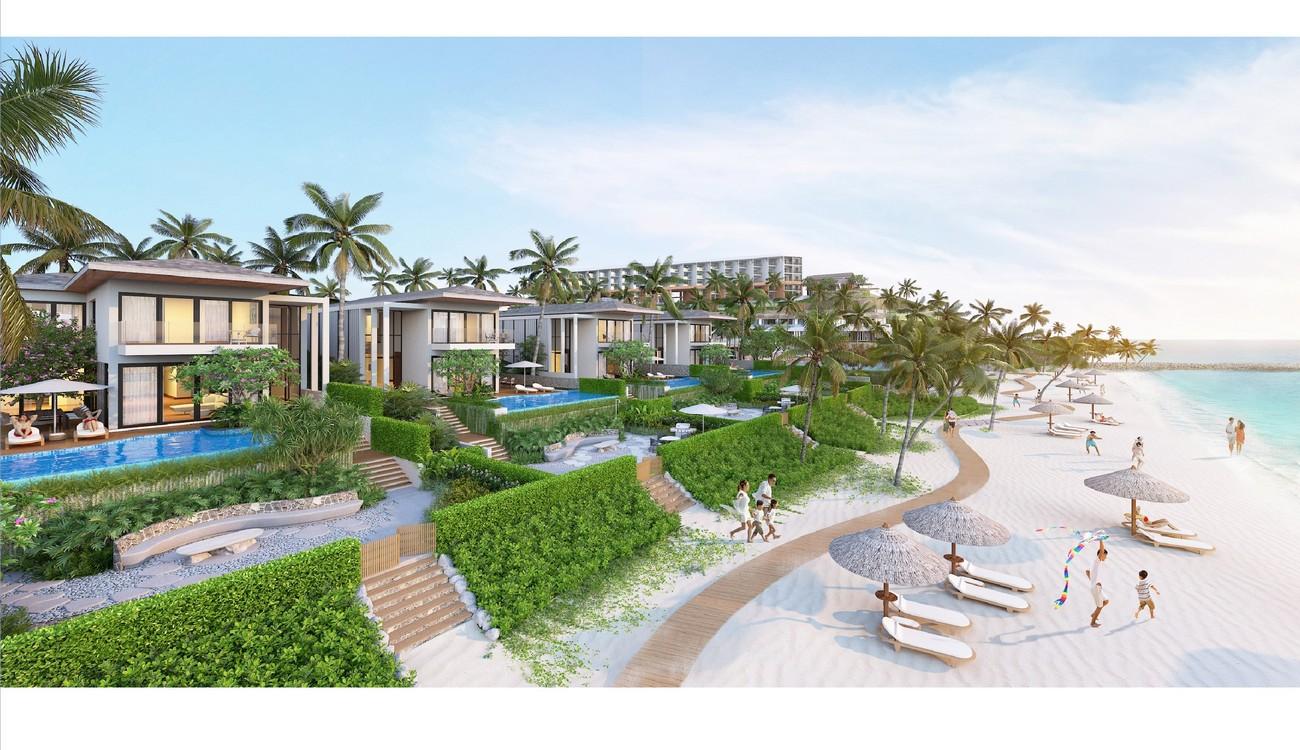 Nhà mẫu dự án căn hộ nghỉ dưỡng Grand Mercure Phan Thiết