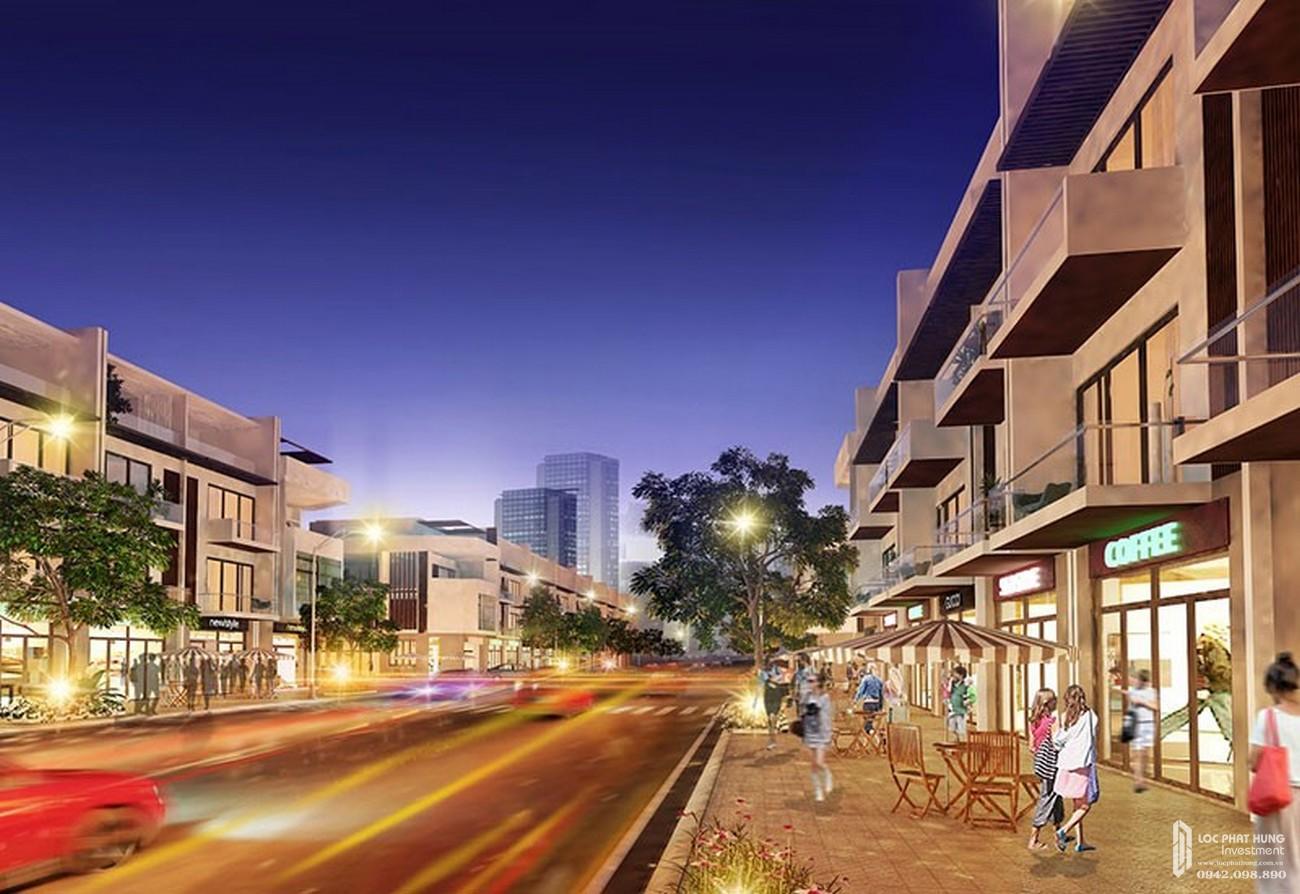 Nhà Phố thương mại và trung tâm mua sắm của dự án