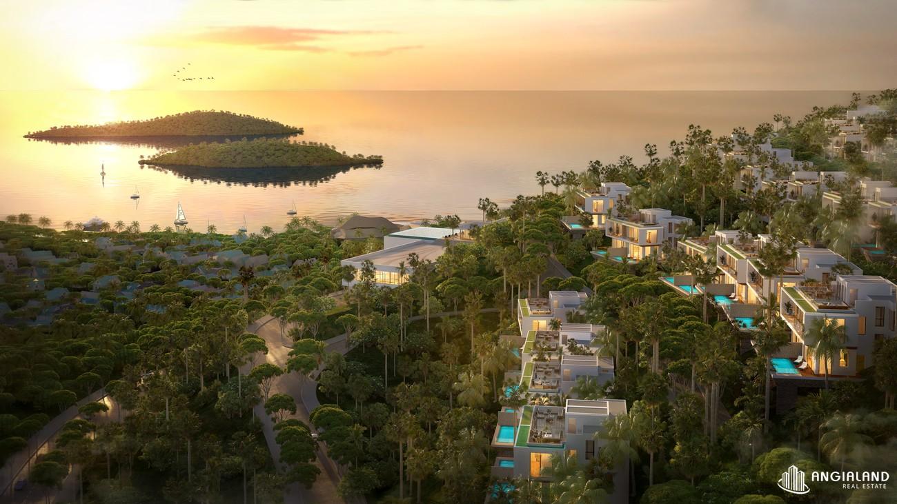 Phối cảnh tổng thể dự án biệt thự nghỉ dưỡng chung cư Casa Marina Premium phuong ghenh rang Đường Quốc Lộ 1D chủ đầu tư BCG Land Group