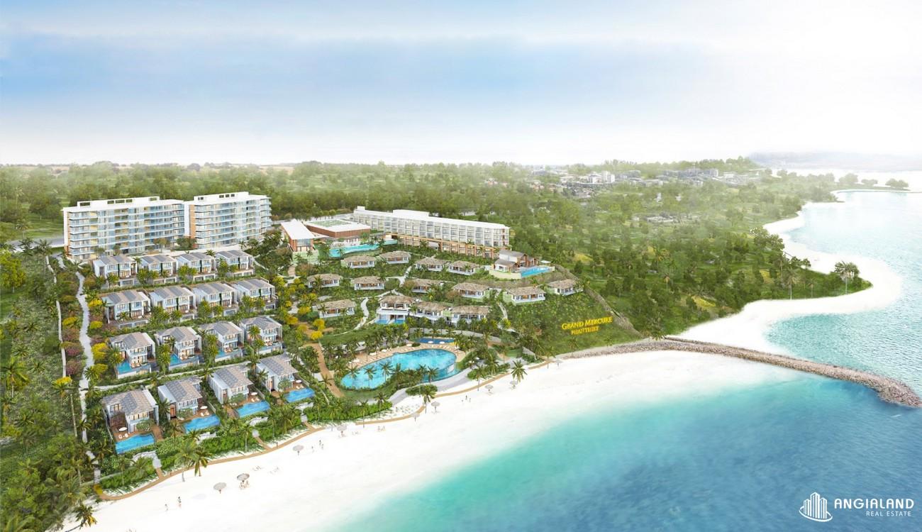 Phối cảnh tổng thể dự án căn hộ nghỉ dưỡng Grand Mercure Phan Thiết