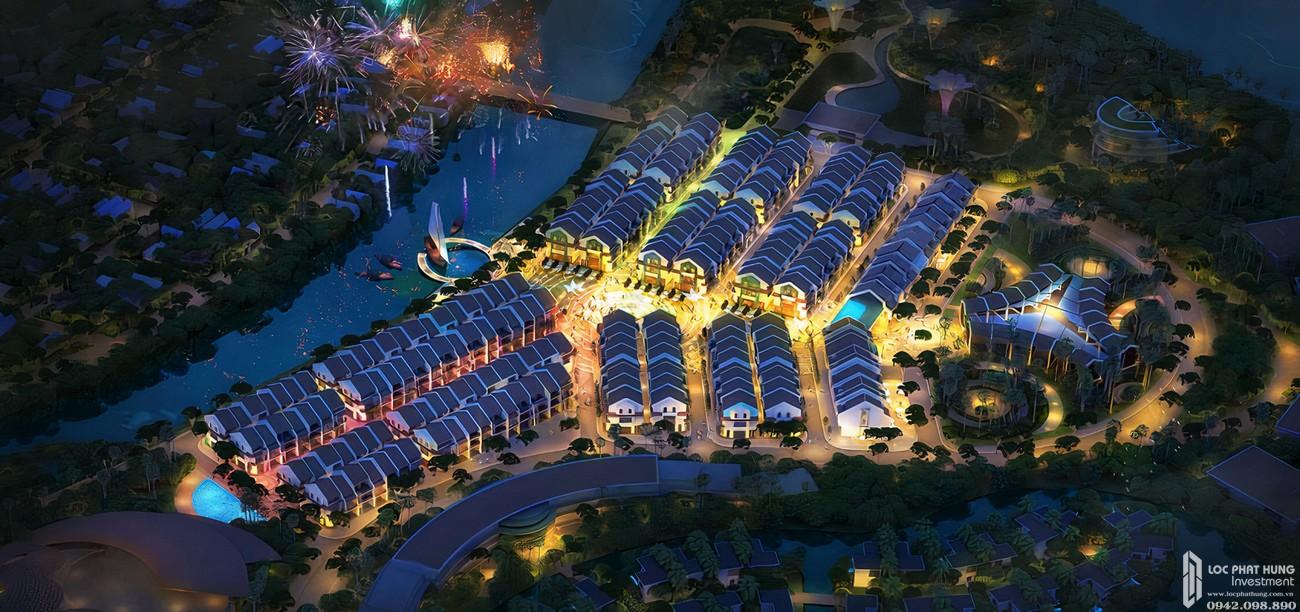 Phối cảnh tổng thể dự án Khu nghĩ dưỡng Hội An D'or Hội An Đường Cẩm Nam chủ đầu tư Bamboo Capital